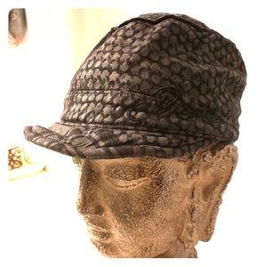 DIESEL Break Off Visor Cotton Hat - Unisex